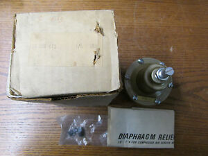 New Nos Norgren 16 001 012 Diaphragm Relief Valve