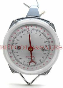 660 Lbs Spring dial Hoist Scale Hang Up Scale Dial Weight Accurate Produce Food