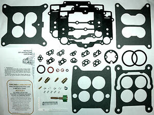 1964 65 Carb Kit Set Buick Dual Quads Carter 4 Barrel Afbs New Does Both Carbs