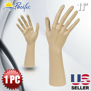 Female Mannequin Hand Display Jewelry Bracelet Ring Glove Stand Holder Naked