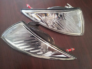 2002 Chevy Cavalier Corner Lamps Pair Left Right Set332 1580ptb vc