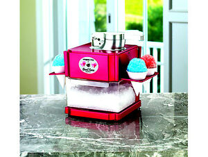 Snow Cone Professional Maker Machine Kitchen Shaved Ice Portable Party Summer