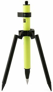 Mini 1 28 Stakeout Fl Green Prism Pole Mini Bipod Surveying Topcon Sokkia