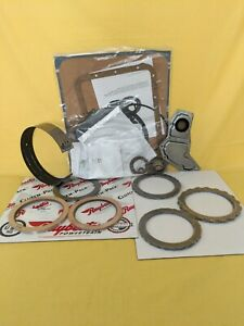 Ford C 6 Transmission Rebuild Kit W Clutches Steels Band Filter 4wd L76 Up