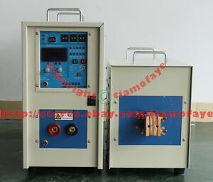 40kw Dual Station High Frequency Induction Heater Furnace Heating Machine 380v