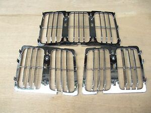 Jeep Grand Cherokee Upper Grille Insert Fully Chrome 2014 16 Ch1200369