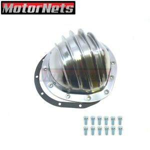 Polished Aluminum Rear Differential Cover 12 Bolt 8 75 Ring Gear Fits Gmc Chevy