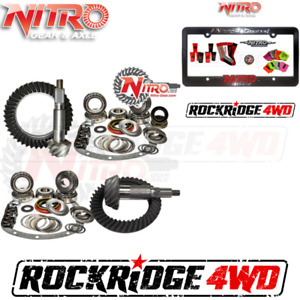 Nitro Gear Package For Jeep Cherokee Xj W Dana 30 Front Chrysler 8 25 4 56