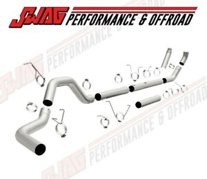 Magnaflow Turbo Back Aluminized Exhaust For 98 5 02 Dodge Cummins 5 9l 18955