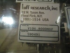 Luff Research Vco Voltage Controlled Oscillator V106 8000msp new
