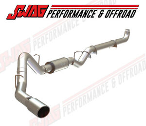 Mbrp Turbo Back Stainless Exhaust For 01 07 Duramax 6 6l S6004409 Off Road
