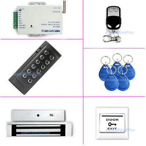 Home office Rfid Door Access Controller System Kit Electromagnetic Door Lock