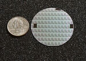 Rare 2 Silicon Wafer 1970 s Syncronar Led Watch Chips
