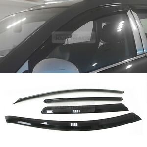 Smoke Window Sun Vent Visor Rain Deflector Guards For Chevrolet 2006 17 Captiva