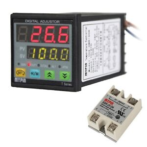 New Digital Pid Temperature Controller Td4 snr Solid State Relay Ssr 40da In Us