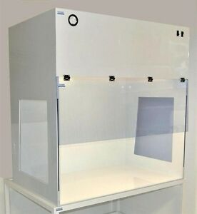 Vertical Laminar Flow Hood 4ft Clean Bench Polypropylene Pvc Window
