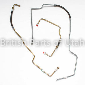 Range Rover Classic Discovery 1 I Transmission Oil Cooler Line Hose Pipe X3