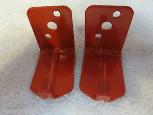 Lot Of 2 universal Wall Mount 10 15 20 Lb Size Fire Extinguisher Bracket New