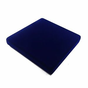 Wholesale Lot Of 12 Blue Velvet Necklace Jewelry Display Packaging Gift Boxes Lg