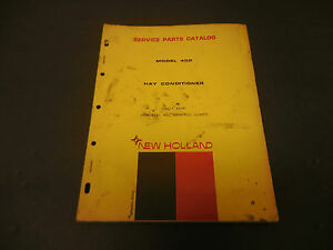 1970 New Holland Service Parts Catalog Hay Conditioner Model 402 17pgs