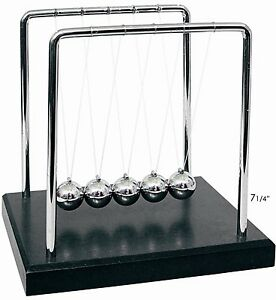 New Newtons Cradle Balance Balls 7 1 4 Inch Desktop Gift Office Home Decoration