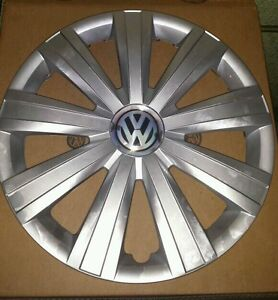 Vw Hub Cap 2011 2014 Jetta Wheel Cover 5c0 601 147 Qlv 15 Inch Now Available