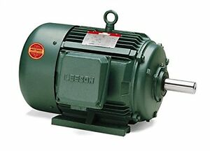 30hp 1770rpm 3ph 286t 208 230 460v Tefc Leeson Electric Motor 170015