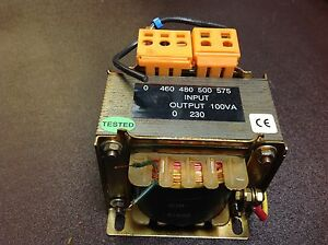 Electro Wind 87630 Transformer Coil 460 480 500 575 Imput 230v Used Nice 69