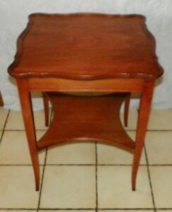 Mahogany End Table Lamp Table By Imperial Of Grand Rapids T409