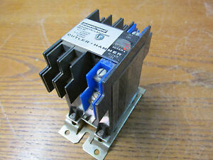 Cutler Hammer D40rm Powereed Magnetic Latching Relay Coil 24 28vdc