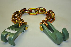 Mo Clamp 4152 Two Single Claws With 3 8 Chain 25 Overall Moclamp Made In Usa