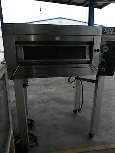 Gemini Sveba Dahlen Dc 12 Commercial Electric Single Deck Steam Bakery Oven