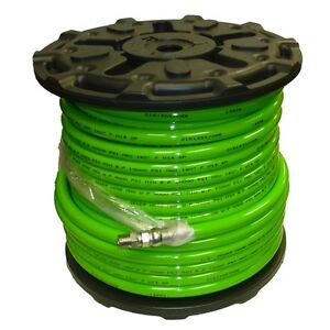 1 2 X 200 Sewer Jetter Hose 4 000 Psi Green solxswv Industrial Hose Free Sh
