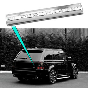 1 New Range Rover Land Rover Sport Supercharged Trunk Badge Emblem Chrome