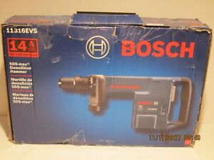 Bosch 11316evs 14 Amp Sds max Demolition Hammer New In Sealed Box Free Ship