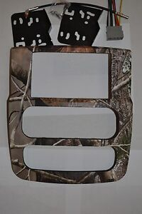 Dodge Ram Double Din 2002 2003 2004 Realtree Ap Camo Dash Navigation Camoflage