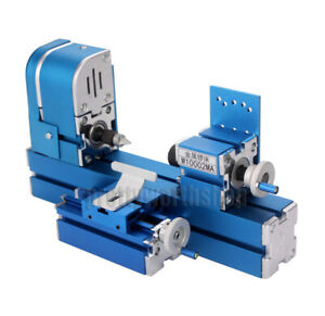 Metal Mini Wood turning Lathe Woodworking Power Tool Machine For Student Diy