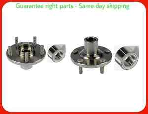 Front Wheel Hub Bearing For 2012 2015 Honda Civic Si 2 4l Only both Side