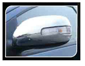 Chrome Side Mirror Cover Trim For 4 Door Toyota Corolla Altis 2008 2012