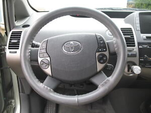 Grey Leather Steering Wheel Cover For Toyota Wheelskins 15 1 2 X 3 3 4