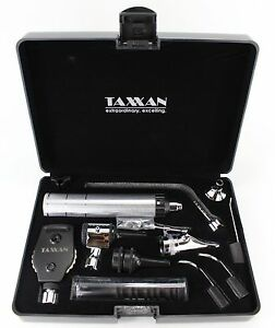 Premium Ent Diagnostic Otoscope Ophthalmoscope Nasal Speculum W extras