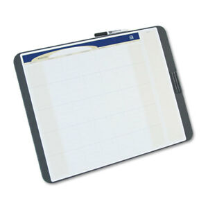 Tack Write Monthly Calendar Board 23 X 17 White Surface Black Frame