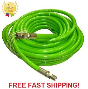 1 2 X 100 Sewer Jetter Hose 4 000 Psi Green solxswv