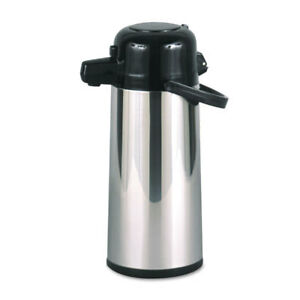 Commercial Grade 2 2l Airpot W push button Pump Stainless Steel