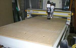 Cnc Router 52 X 100 With 10 Hp Vacuum Pump