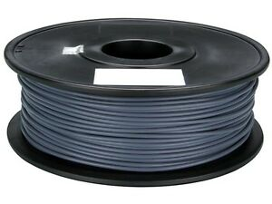 Velleman Pla175h1 1 75 Mm 1 16 pla Filament Grey 1 Kg 2 2 Lb