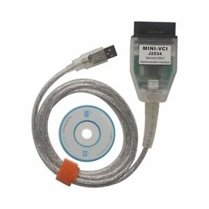 Mini Vci V10 30 029 Single Cable For Toyota Support Tis Oem Diagnostic Software