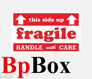 Fragile Size 3x5 100 Labels Comparable To Uline S 5947