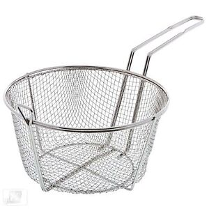 11 Round Wire Fry Basket
