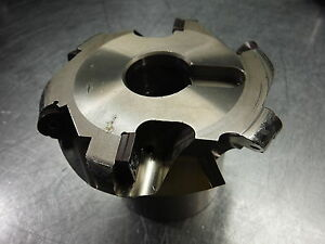 Mitsubishi 4 Indexable Face Mill Afp4 000r510 1 25 Arbor loc1245b